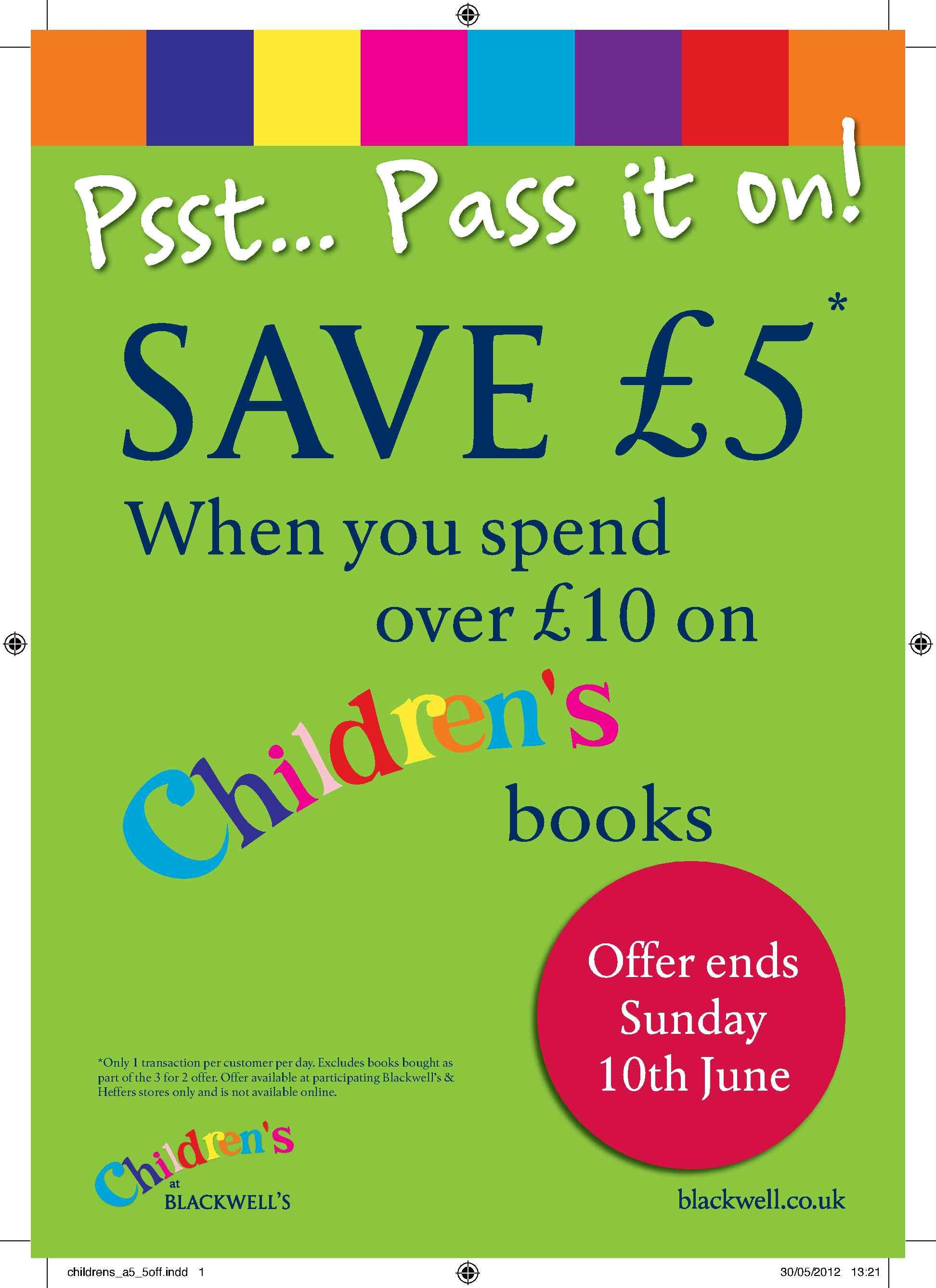 A great offer if you're in Cambridge!