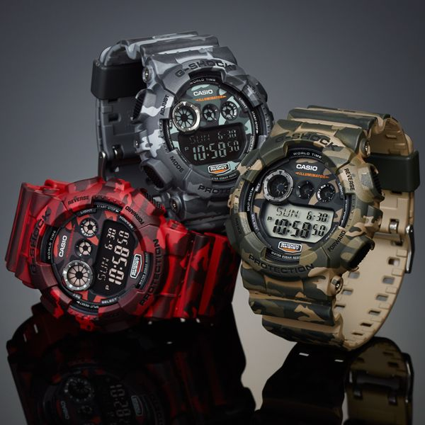 cf68ee15f83 Camo Watches Casio G Shock Protection