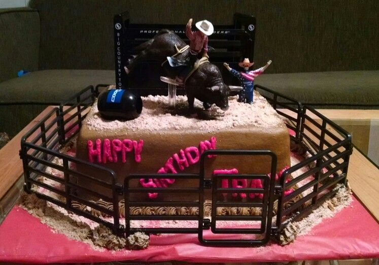 Rodeo Bullriding Cake Lane Frost Cakes Rodeo Birthday