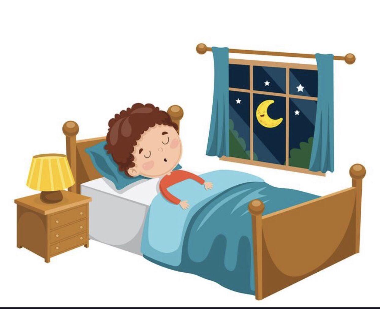 Pin By Kholoud Abu On قصص الحروف Girl Sleeping Sleeping In Bed Vector Free
