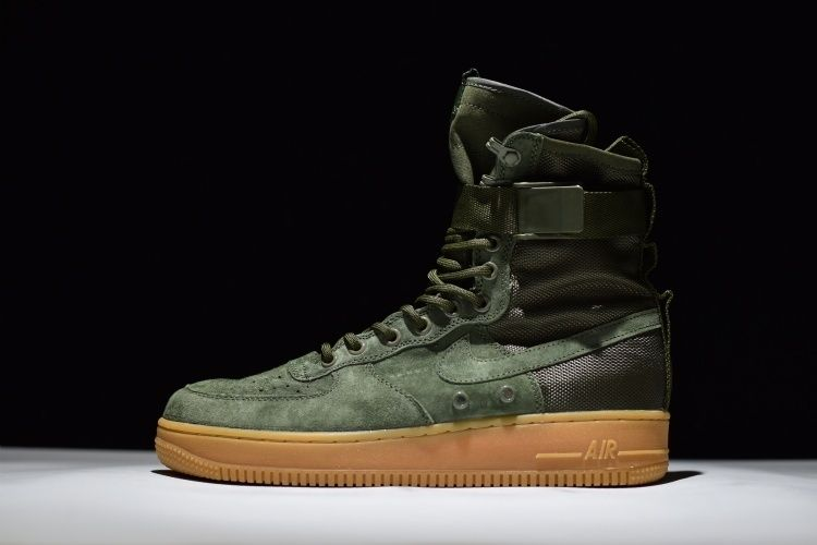 quality design b4d63 14d46 Nike Special Field Air Force 1 SF-AF1 High Tops Faded Olive Cheap Sale  Online