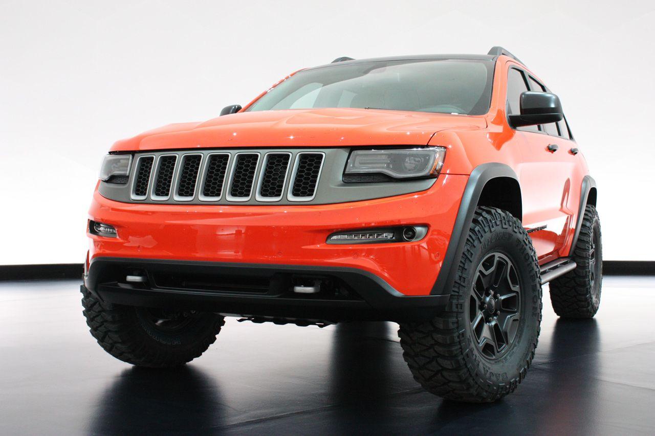 Jeep Grand Cherokee Trailhawk Ii Concept Jeep Grand Cherokee