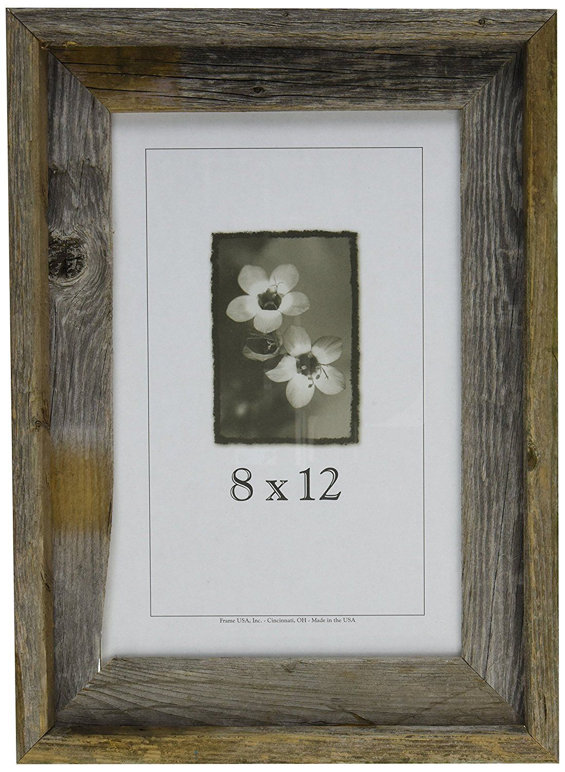Frame USA 17058 Barnwood Picture Frames, 8\' x 12 \' ** Be sure to ...