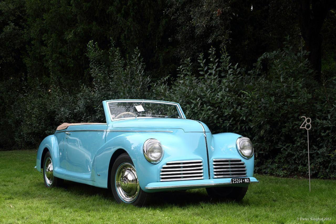 Aprilia Cabriolet Bertone - 1947