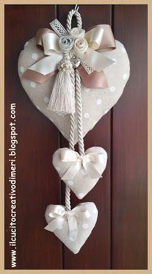 Photo of Mery-kreasjoner: Tre hjerter ved døra