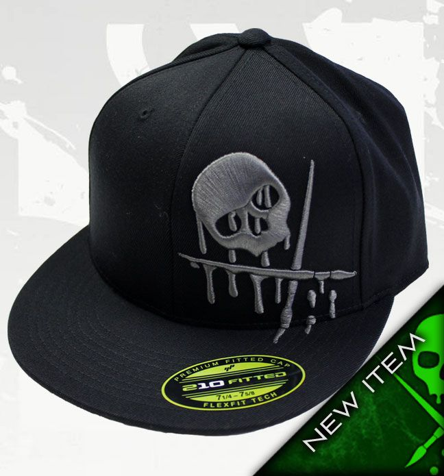TOXIC Hat Black   Charcoal by Sullen Flex Fit Hats by Sullen  New ... 98886d2eec7a