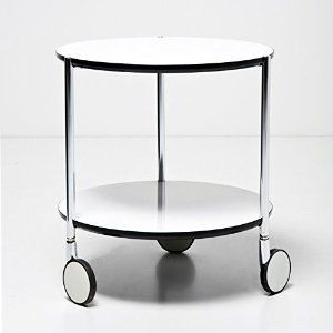 Small Table On Wheels Homeware Furniture Furniture Living Room Furniture Tables End Tables Side Table Small Round Side Table White Side Tables