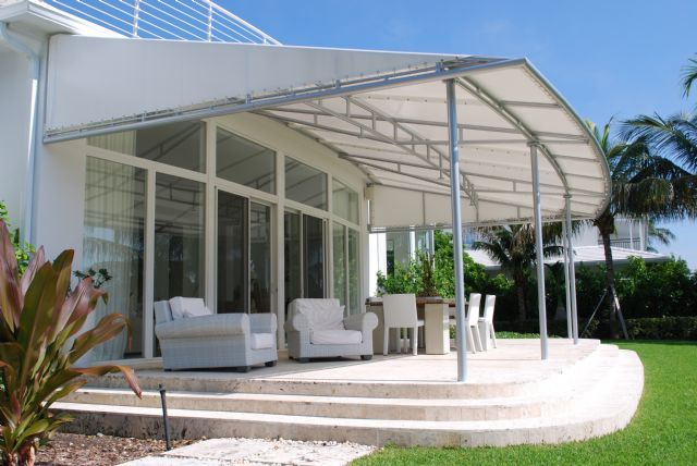 13 Types of Awnings/Canopies for Business in Nigeria