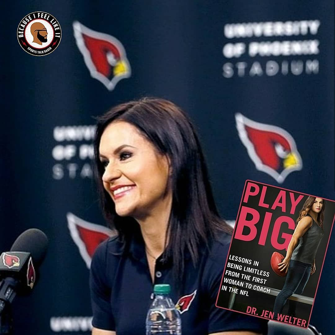 play big lessons in being limitless from the first woman to coach in the nfl