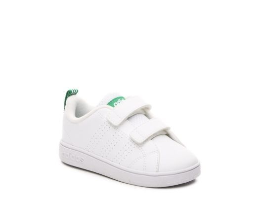 cf447abfc Women s Girls NEO Advantage Clean Infant   Toddler Sneaker -White Green -  White Green
