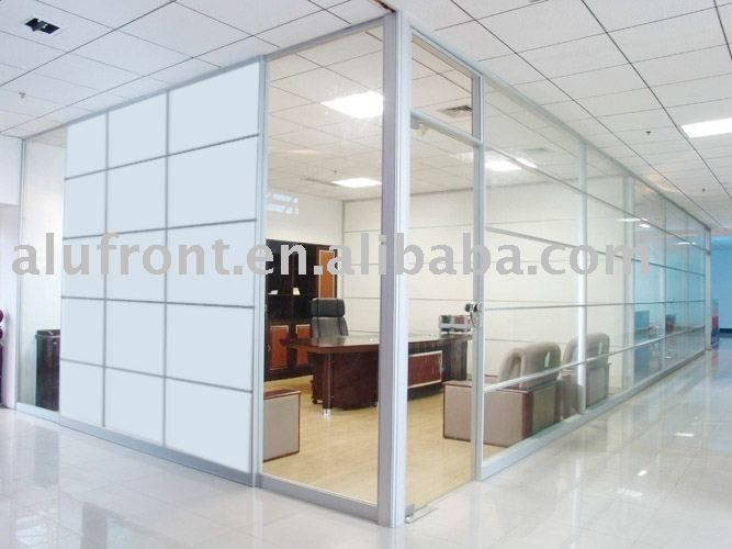 Aluminum Glass Office Divider Office Partition High Partition Room