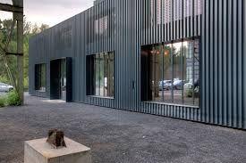 Bildergebnis Fur Trapezblech Fassade Architektur Aussenjalousien Blech Fassade