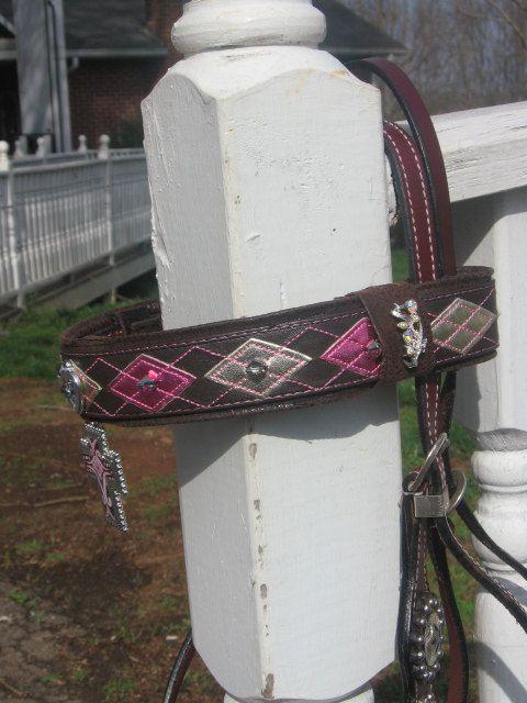 Fancy Horse Bridle Brow Band Covers van Fancihorse op Etsy, $35.00