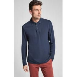 Photo of Langarm-Poloshirt Priamo in Navy Joop