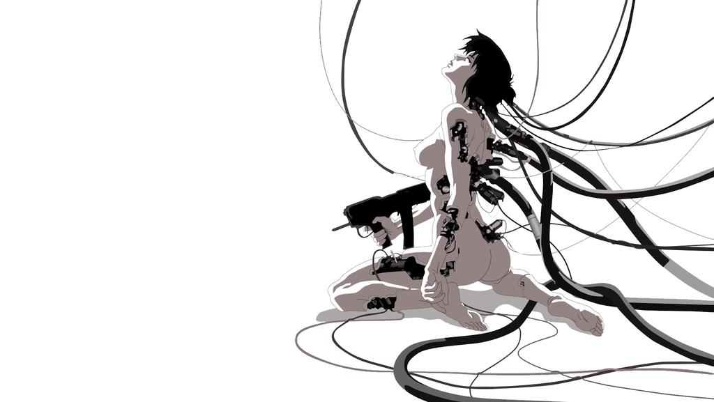Ghost In The Shell Wallpaper By Mobiuszeroone D46y2kb Png 1 024 577 Pixels Ghost In The Shell Cyberpunk Anime Cyberpunk Art
