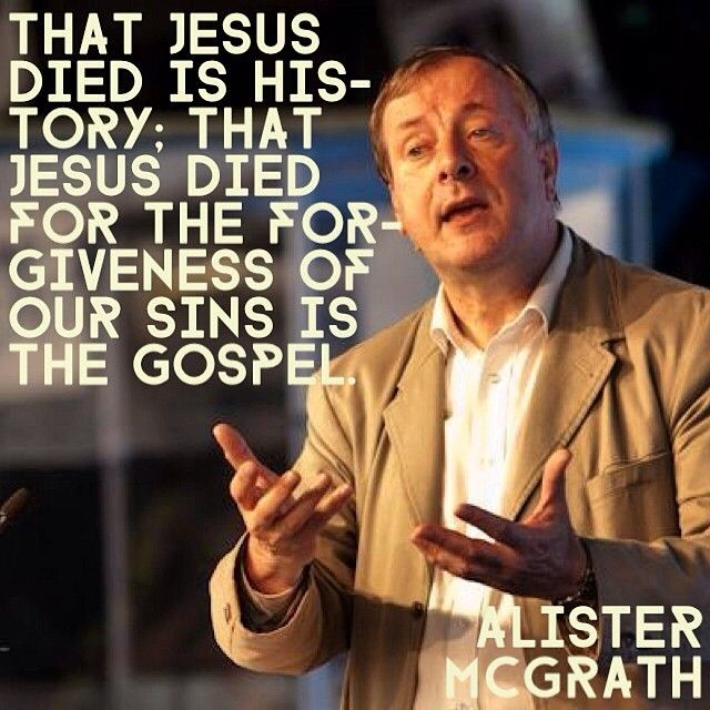 Alister McGrath on Jesus' Death