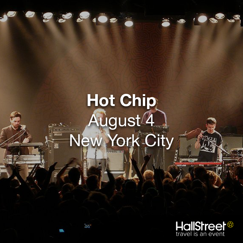 Watch Hot Chip in New York City this August 4th! Get your tickets here! ➜ http://bit.ly/NYCHotChip