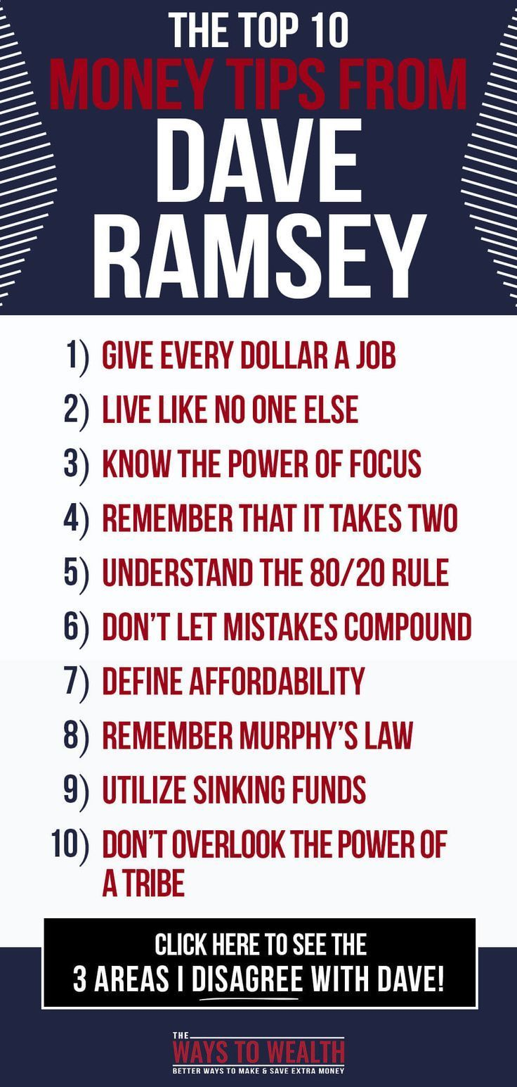 Dave ramsey his 10 best tips and what to ignore in 2020