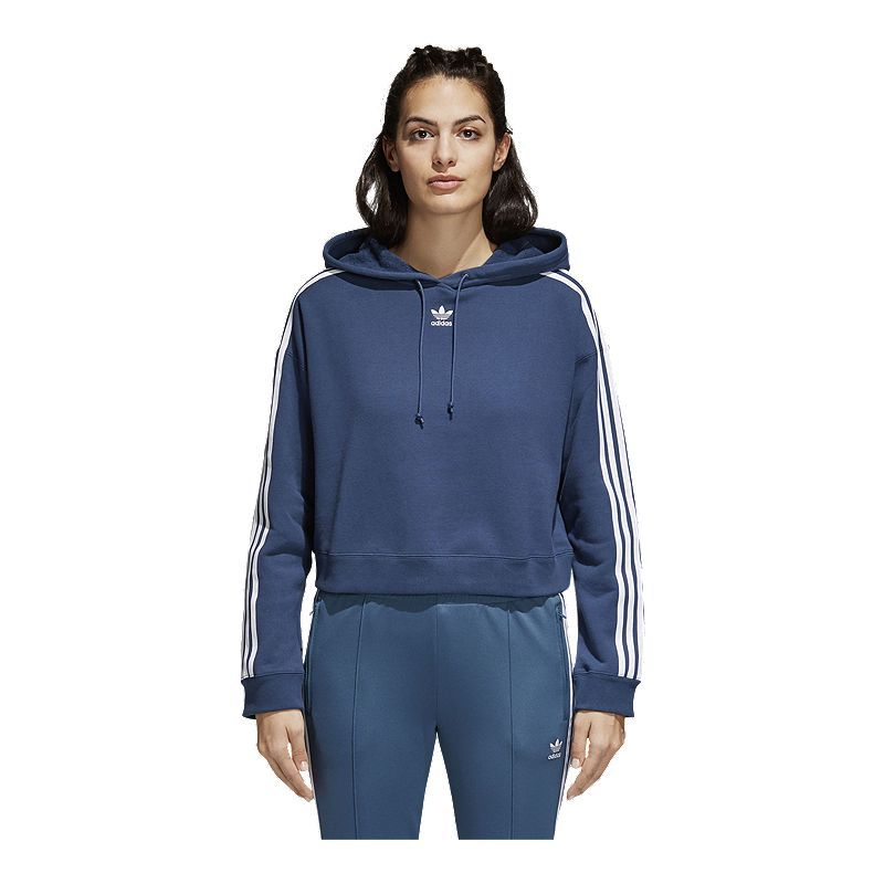 dcc48a7dbd adidas Originals Women's Cropped Hoodie in 2019 | Products | Adidas ...