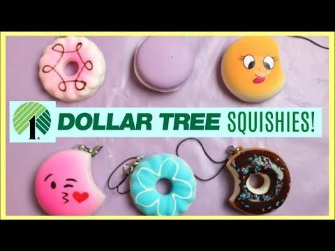 Real Squishies At Dollar Tree Store Squishy Haul