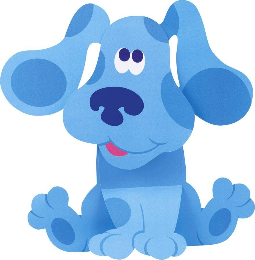 Blue\'s Clues... he most definitely has a place in Cool BLUE Stuff ...