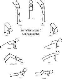 stick man sun salutation  yoga teacher training yoga