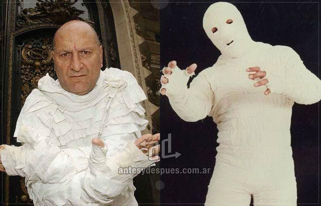 Oscar Demelli sin máscara