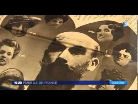 Les Cameras De France3 Soir3 Visitent L Exposition Landru 6h10 Temps Clair Au Musee Des Lettres Et Manuscrits