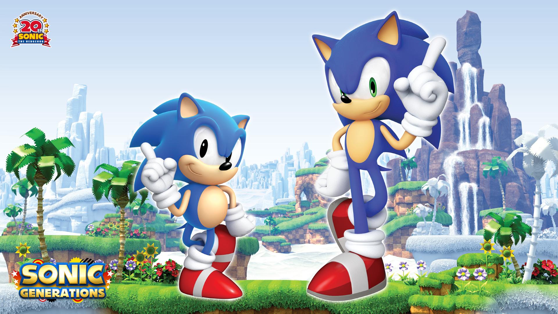 Sonic Generations Hd Wallpaper 3 1920 X 1080 Stmed Net Sonic The Hedgehog Sonic Anime