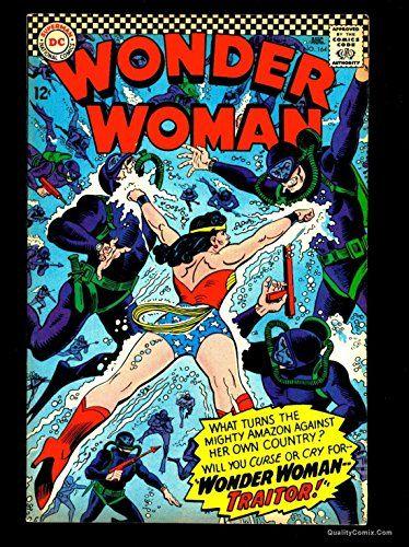 Wonder Woman #164 VF 8.0 @ niftywarehouse.com #NiftyWarehouse #DC #Comics #ComicBooks #WonderWoman #SuperHeroes