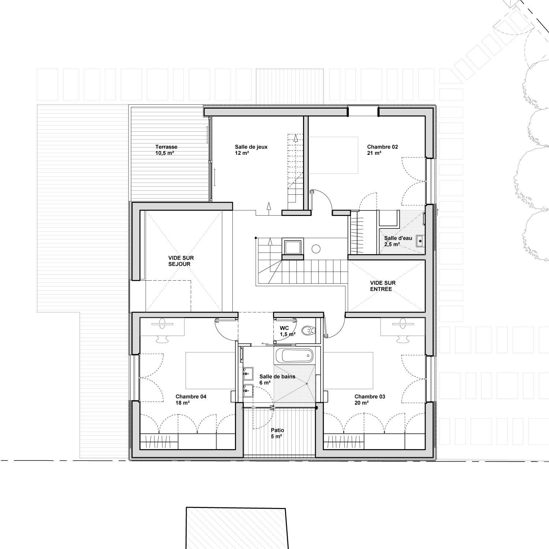 Avenier Cornejo Architectes Project House 2g Image 2 Architecture Presentation House Red Cedar Wood