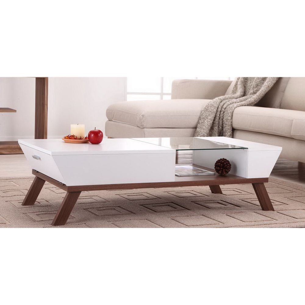 Furniture of america kress glass insert coffee table overstock furniture of america kress glass insert coffee table overstock shopping great deals geotapseo Image collections