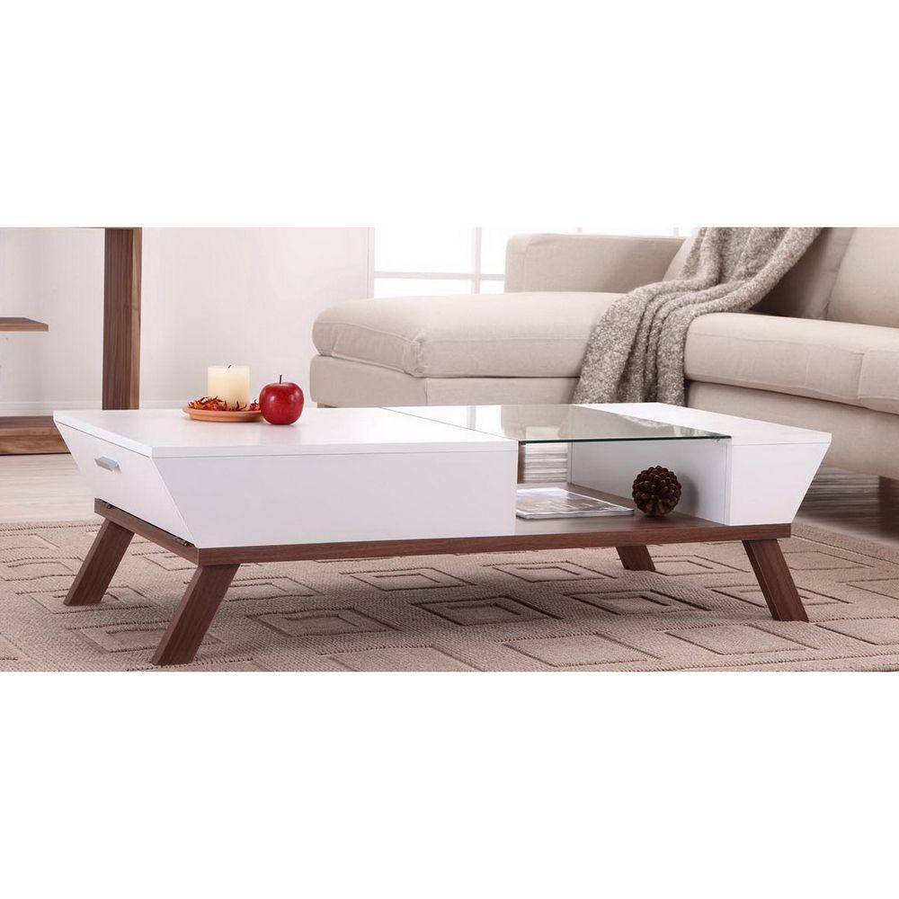 $180 / Kress Glass Insert Coffee Table | Overstock.com Shopping ...