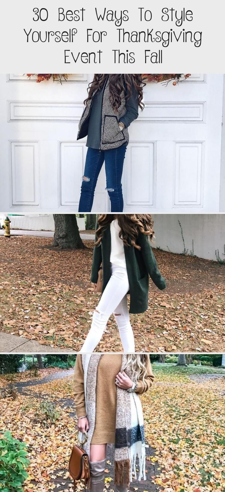 30 Best Ways To Style Yourself For Thanksgiving Event This Fall - FASHIONATE | A2VIDS -  30 Best Ways to Style Yourself for Thanksgiving Event this Fall #Fall Outfit, # #falloutfit #Thanks - #A2VIDS #Event #Fall #FASHIONATE #Style #Thanksgiving #Ways