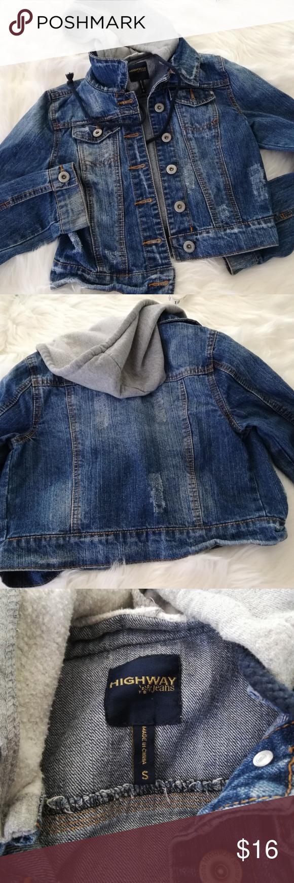 Highway Jeans Girls Denim Jacket Jean Hoodie Small Girls Denim Jacket Girls Denim Girls Jeans [ 1740 x 580 Pixel ]