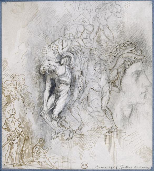 Moreau Gustave (1826-1898)  Paris, musée Gustave Moreau