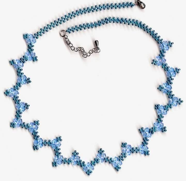 1fc62660f8c5 Patrones para hacer tus collares con abalorios