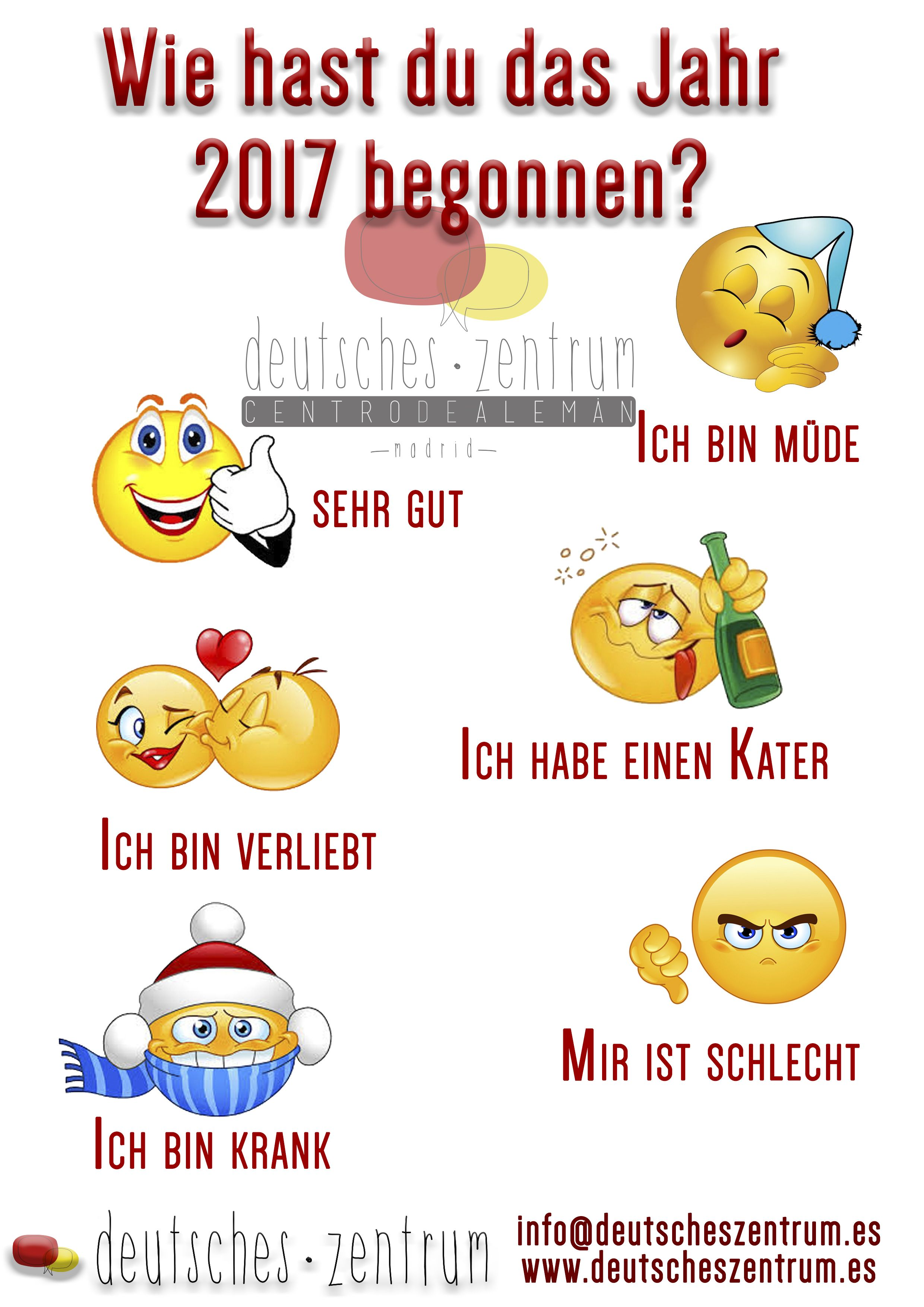 Wie geht es dir? 2017 Deutsch Wortschatz Grammatik German