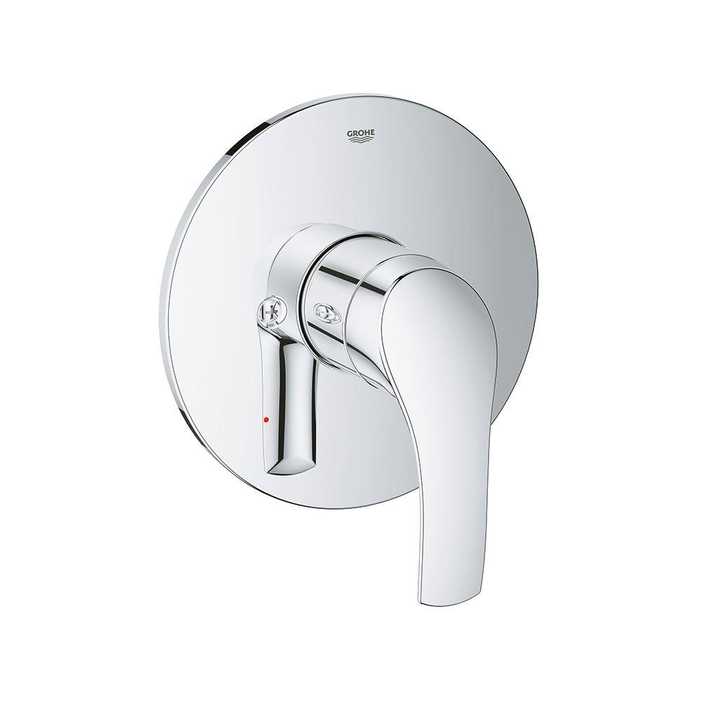 Grohe Eurosmart New Single Handle Valve Trim Kit In Starlight