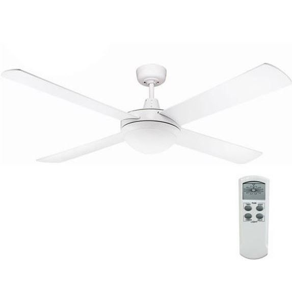 Fanco Urban 2 Ceiling Fan W LED U0026 Remote White 52in | Buy Ceiling Fans