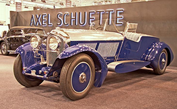 1928 Bentley 6.5 Speed Six Barker Touring Torpedo Straight-Six ...