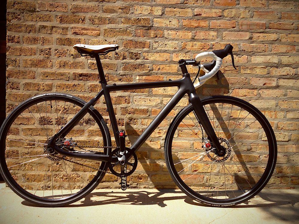 Single Speed Cyclocross Dirty Disco Carbon Fiber Frame | Cyclo-X ...
