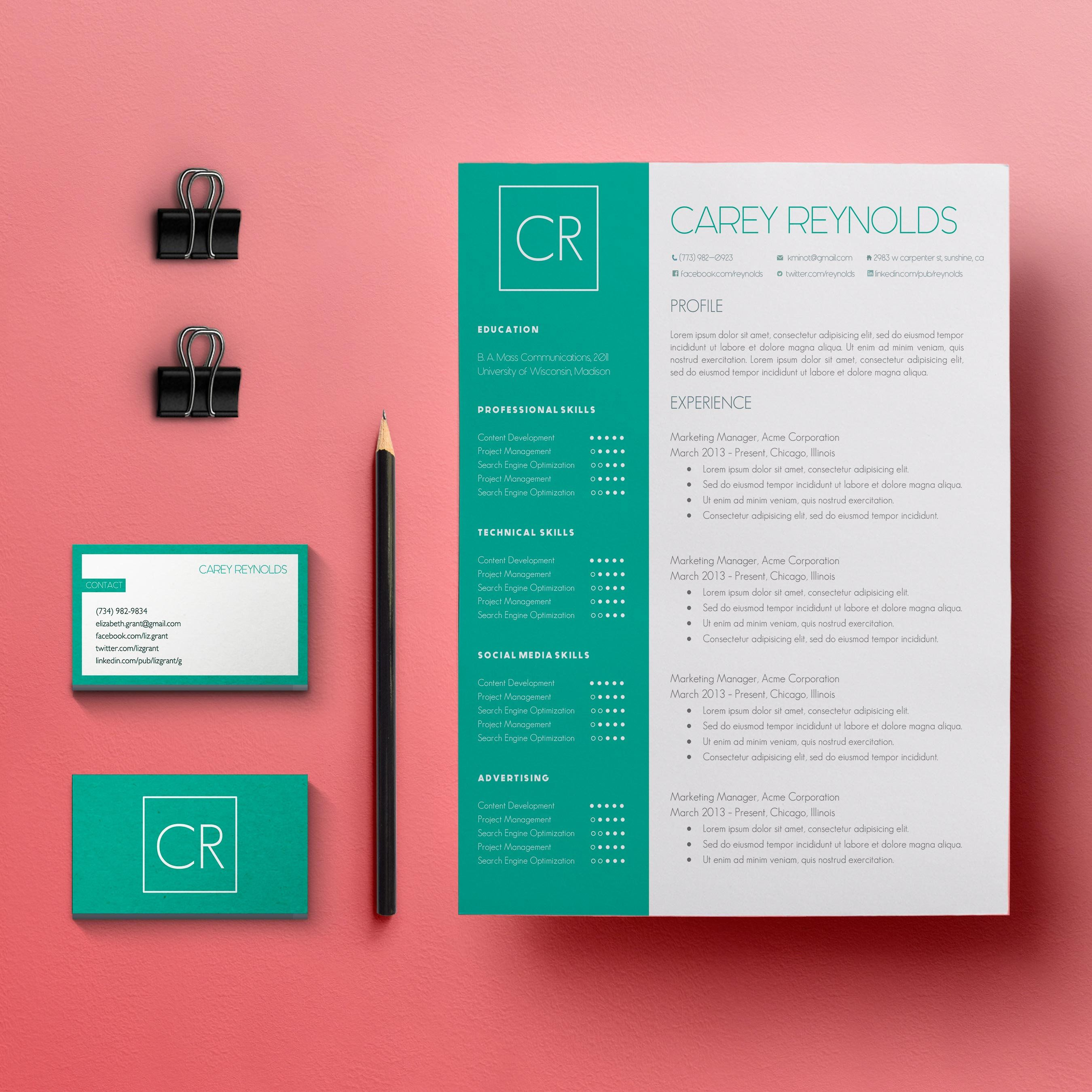 Looking for a professional cover letter template resume template