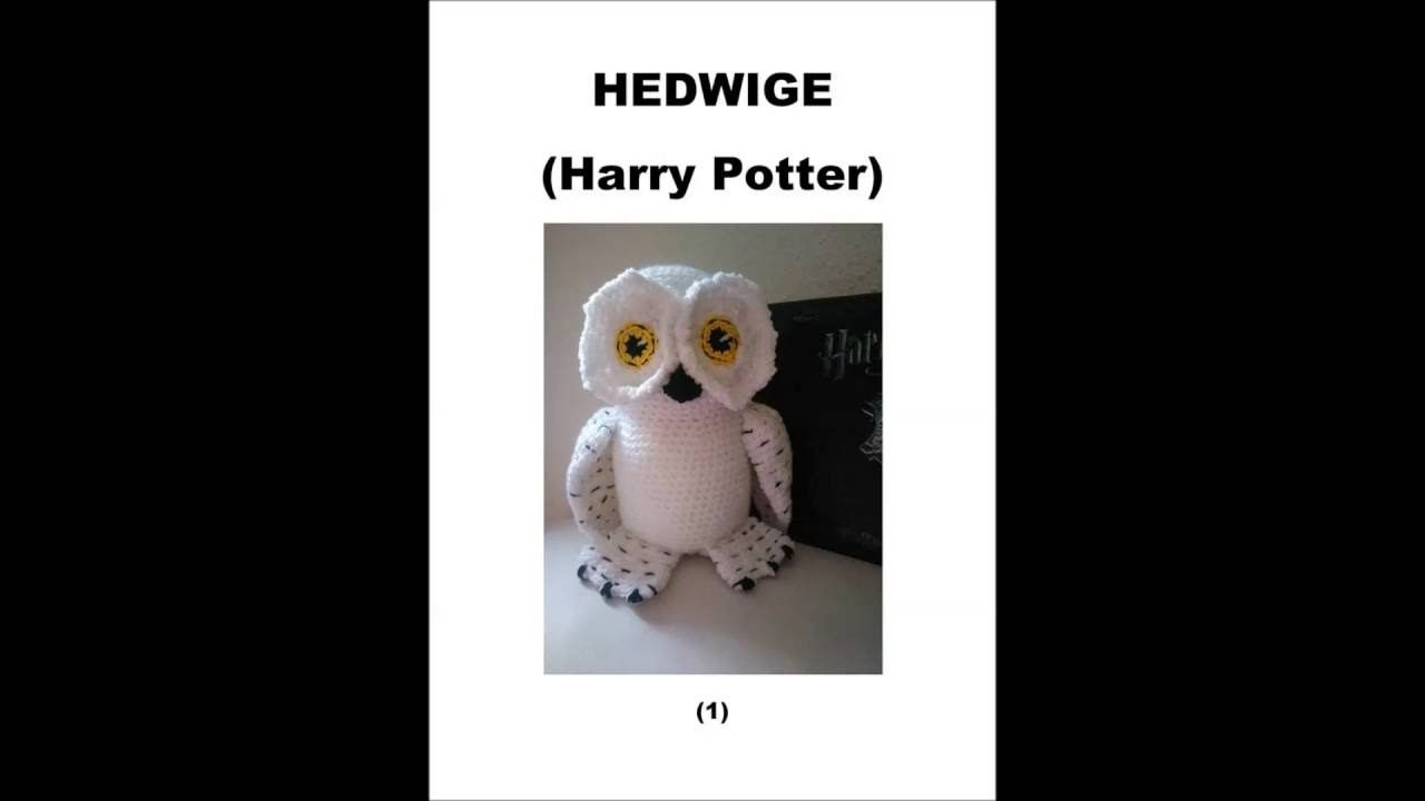 Peluche Hedwige Hedwige Harry Potter Au Crochet Crochet Harry Potter