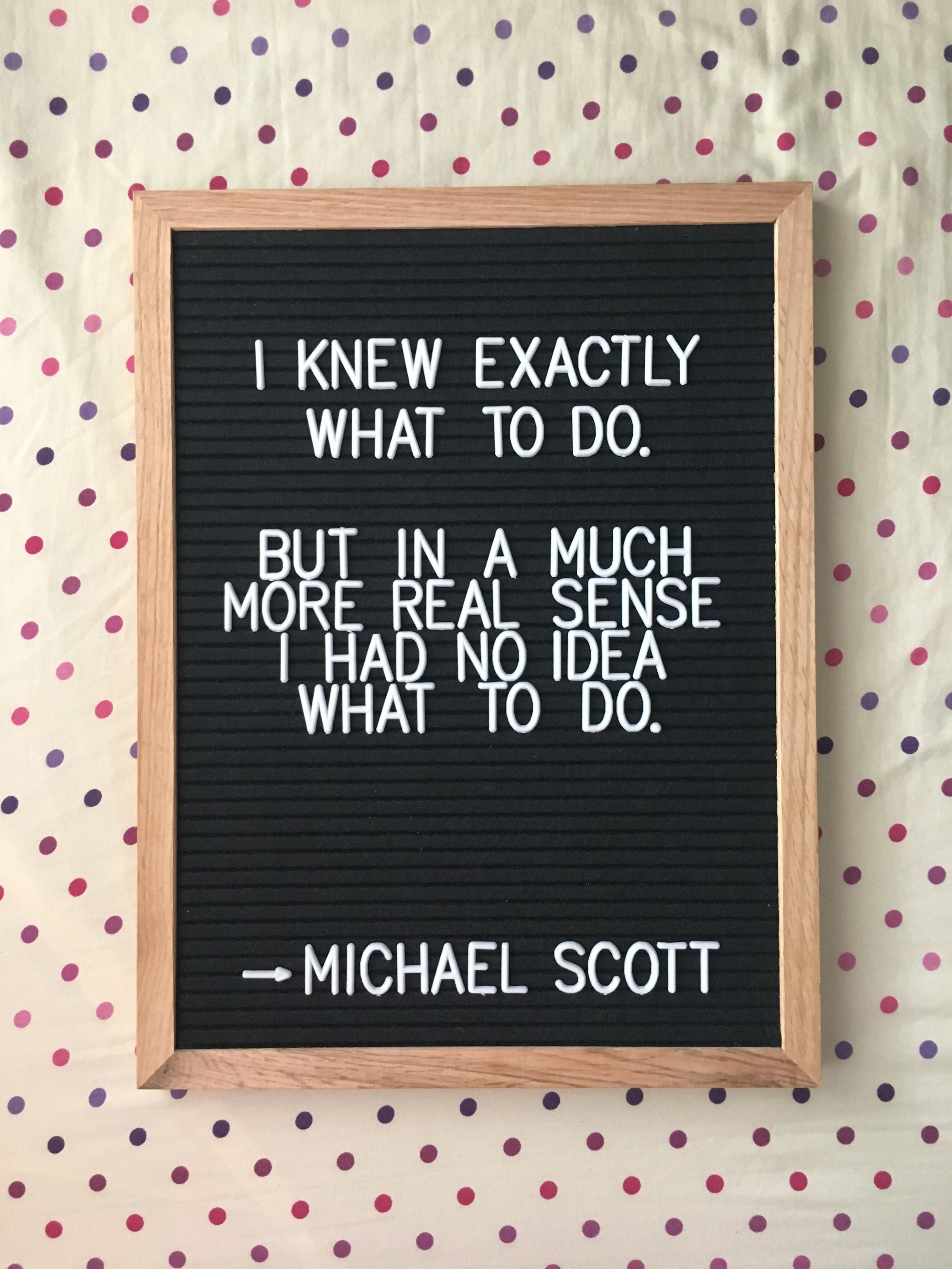 Oh Man I Seriously Love The Office Michael Scott Letterboard Pin Joyfullyjoydesigns Please Credit Message Board Quotes Letterboard Signs Letter Board