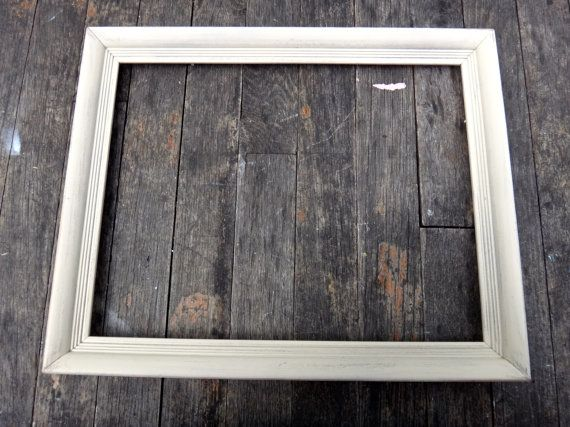 Painted Frame 10 X 13 Frame Wooden Frame Wedding Decor Shabby