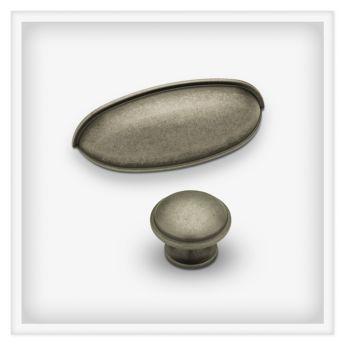 LIBERTY Cup Pulls II in Antique Iron (LIBERTY COLCUPPULLSII-AI ...