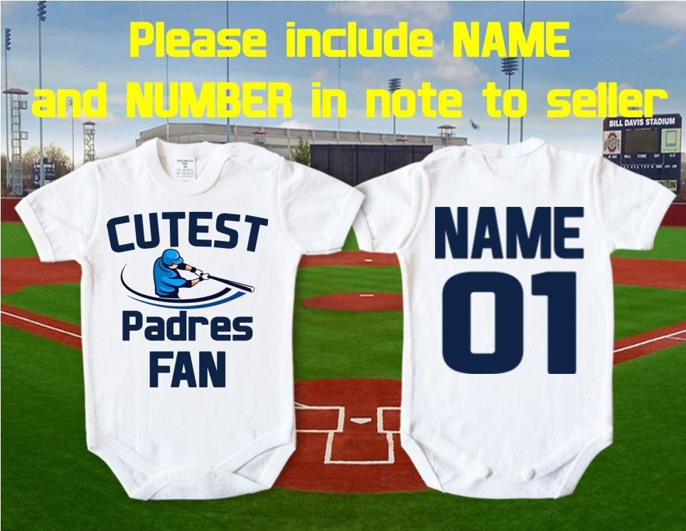 eeff2ca0 San Diego Padres baby Cutest Padres - San Diego, MLB body Vests Bodysuit  Funny Child One Piece boy Clothing girl Kid's t-shirt Toddler Tops by  IvetShop on ...