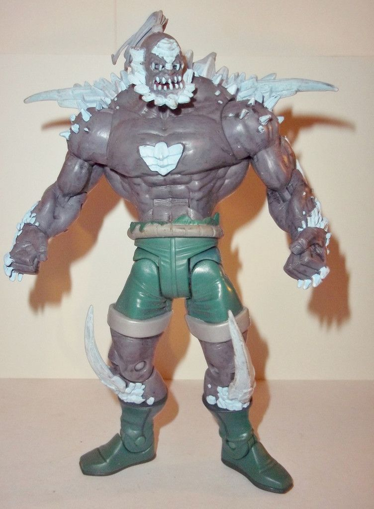 dc universe classics 6 inch DOOMSDAY superman super heroes complete