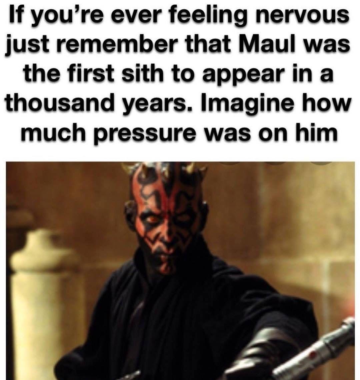 It Was A Ton Of Pressure Funny Star Wars Memes Star Wars Fandom Star Wars Humor